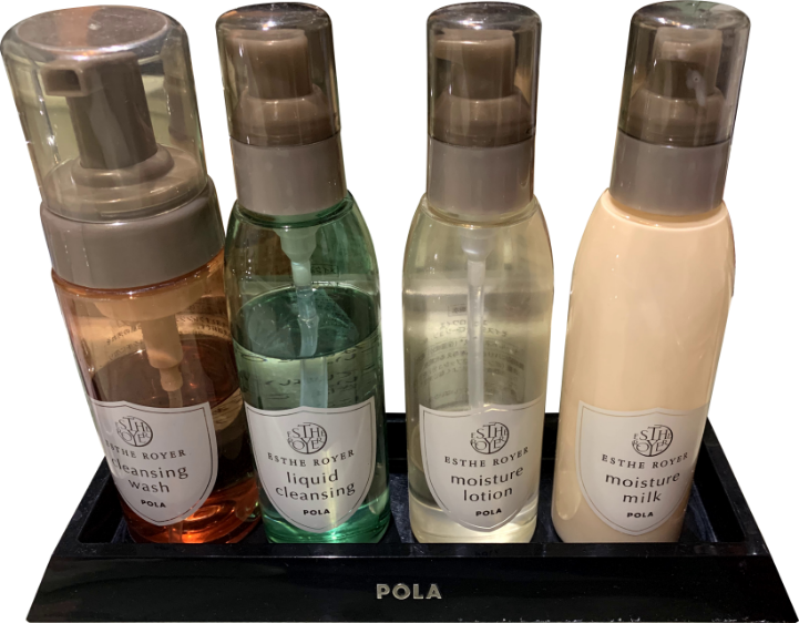 Hotel Pao(ホテルパオ) アメニティ「基礎化粧品・洗顔用品」