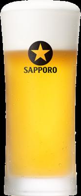 Hotel Pao(ホテルパオ) ドリンクメニュー 特別価格「生ビール(サッポロ黒ラベル)」